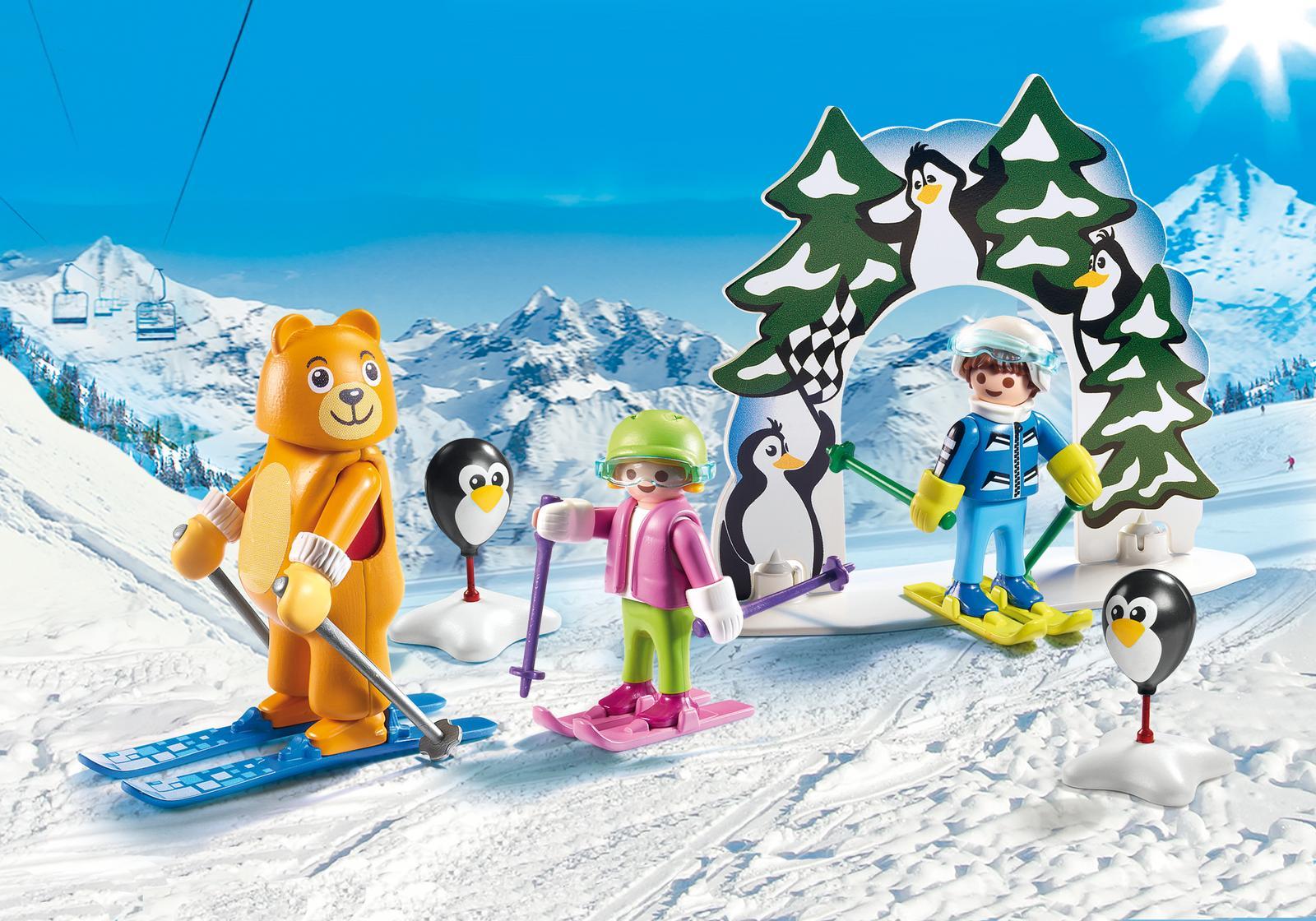 Scoala de schi Playmobil